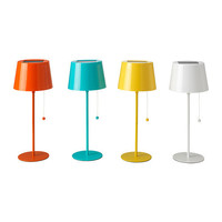 SOLVINDEN Solar-powered table lamp, assorted colors - IKEA