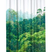 H&M Printed Shower Curtain $29.99