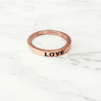 Love Game Ring