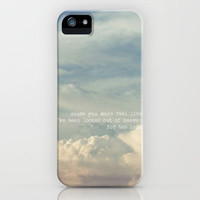 LOCKED OUT OF HEAVEN  *** Bruno Mars Lyrics *** iPhone Case by SUNLIGHT STUDIOS | for iphone 5 + 4 S + 4 + 3 GS + 3 G + pillow + mo Society6