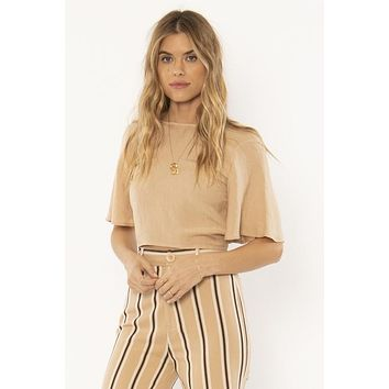 The Brie Woven Top