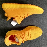 Adidas Yeezy 350 Boost Yellow Sneakers