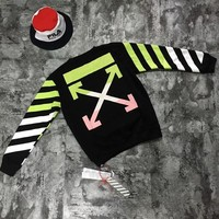 OFFWHITE Women Men Fashion Casual Top Sweater Pullover