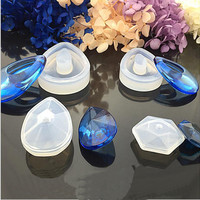 1pcs Liquid silicone mold DIY resin jewelry pendant necklace pendant lanugo mold resin molds for jewelry