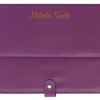 Perfectly Purple Lasered iPad/Tablet Case