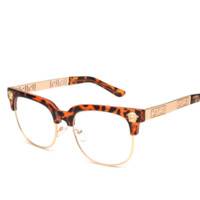 Leopard Women Fashion Sunglasses New Versace