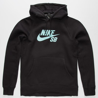 NIKE SB Mint Flash Icon Mens Hoodie | Sweatshirts