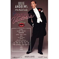 Victor Victoria 27x40 Broadway Show Poster