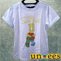 The Simpsons Bart Simpsons Women T Shirt