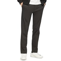 Calvin Klein Mens Slim-Fit Stretch Joggers - Steel Gray Heather Various Sizes,