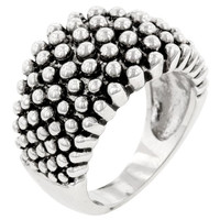 Studded Metal Ring, size : 06