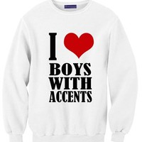 I Heart Boy With Accents