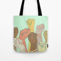 together Tote Bag by michelle borjon