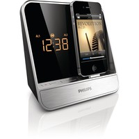 Philips AJ5300D/37 Alarm Clock Radio for 30-pin iPod/iPhone (Silver)