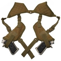 Tactical Left Right Hand Gun Pistol Double Shoulder Holster Bag Airsoft Hunting for Glock 17 19 22 23 25 30 31 32