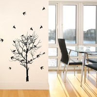 Birds in Trees Wall Decal
