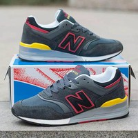"""""""New Balance 997"""" Men Sport Casual N Words Multicolor  Sneakers Running Shoes"""