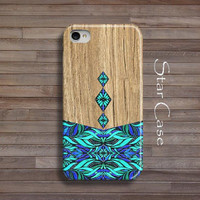 iPhone 5 Case Wood Print, iPhone 5s Case, iPhone 4 Case Aztec iPhone 4s Case Wooden Tribal iPhone 5 Cover Geomteric iPhone 5s Christmas Gif