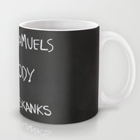 Regina George's Resources from the movie Mean Girls Mug by AllieR