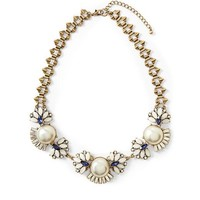 Piperlime | Glass Pearl Necklace