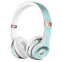 Teal Slate Marble Surface V23 Full-Body Skin Kit for the Beats by Dre Solo 3 Wireless Headphones