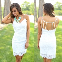 Bright White Beauty Dress