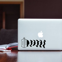 Doctor Who Decal (free shipping)
