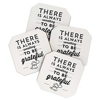 Allyson Johnson Something To Be Grateful For Coaster Set