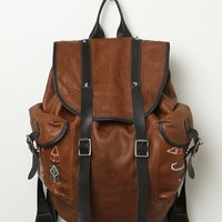 Free People Chaplin Leather Backpack