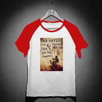 My Chemical Romance quotes - Short Sleeve Raglan - White Red - White Blue - White Black XS, S, M, L, XL, AND 2XL *02*