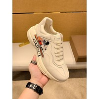 Gucci  Woman's Men's 2020 New Fashion Casual Shoes Sneaker Sport Running Shoes
