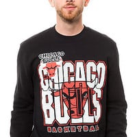 Mitchell & Ness Sweater Chicago Bulls Technical Foul Fleece in Black