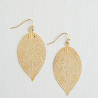 Boho You're Frond to Something Earrings by ModCloth