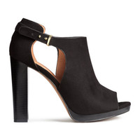 Peep-toe Shoes - from H&M