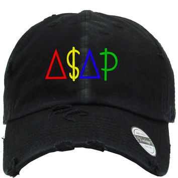 ASAP Embroired Distressed Baseball