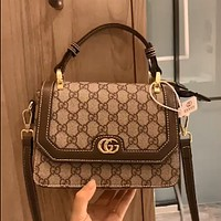 GUCCI Simple Retro Wild Women's Handbag Shoulder Crossbody Bag