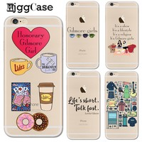 Gilmore Girls Life's Short Talk Fast Phone Case for iphone 6 6S Silicone TPU Back Cover for iphone 8 7 6 6s Plus 5 5S SE X Coque