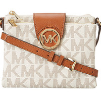 MICHAEL Michael Kors Fulton Large Crossbody Vanilla - Zappos.com Free Shipping BOTH Ways