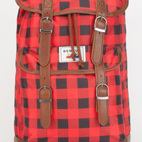 Benrus Scout Backpack Red/Black One Size For Men 26487832901