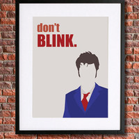 """Doctor Who Inspired Poster Art 