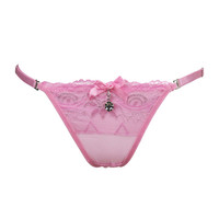 Sale Promotion Invisible Underwear Thong Panties  Spandex Gas Seamless Crotch Thong Ice Women A Female T Pants Ladies