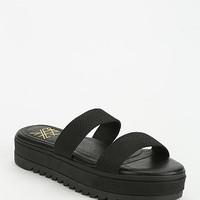 Yes Chrissy Double-Strap Slide Flatform Sandal - Urban Outfitters