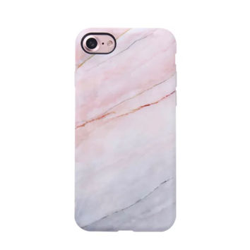 Marble Case for iPhone 8 / 7 - Smoked Coral