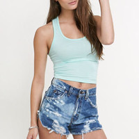 Lilu Cropped Racerback Tank at PacSun.com