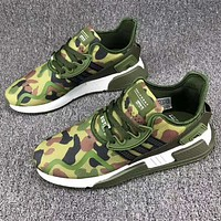 Adidas Clover EQT Cushion ADV winter performance sports shoes F-CSXY Camouflage green