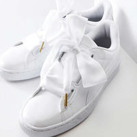 Puma Basket Heart Patent Leather Sneaker | Urban Outfitters