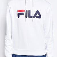 Fila Oversized Pull Over Hoodie With Large Logo