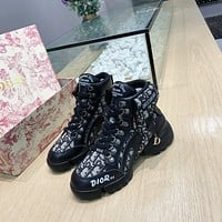 dior fashion men womens casual running sport shoes sneakers slipper sandals high heels shoes 356