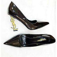 YSL Yves Saint Laurent Hot Sale Women Fashion Pointed High Heels Shoes Sandals 8#