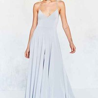 Silence + Noise Vivica Shine Extreme Wide-Leg Jumpsuit - Urban Outfitters